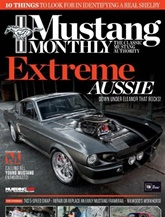 Mustang Monthly omslag