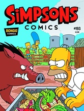Simpsons The Comic Magazine omslag