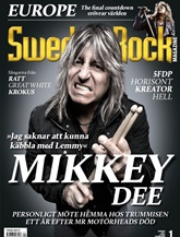 Sweden Rock Magazine omslag