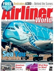 Airliner World omslag