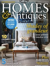 BBC Homes & Antiques omslag