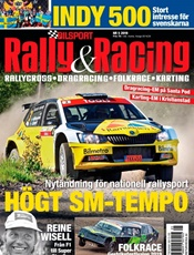 Bilsport Rally&Racing omslag