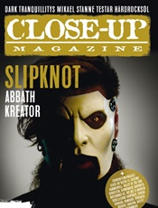 Close-Up Magazine omslag