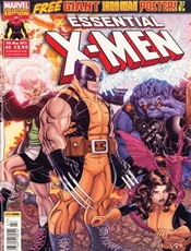 Essential X-men omslag