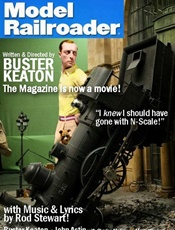 Model Railroader Magazine omslag