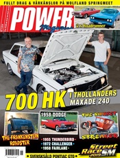 Power Magazine omslag