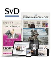 svenska dagbladet prenumeration