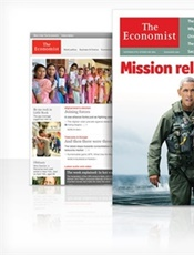 The Economist Print & Digital omslag