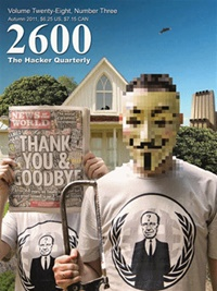 2600, The Hacker Quarterly omslag