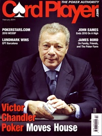 Card Player Magazine omslag