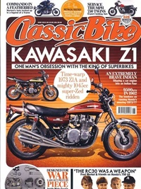 Classic Bike UK omslag