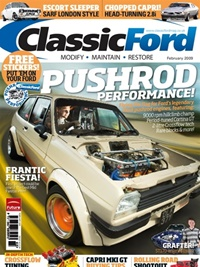 Classic Ford Magazine omslag