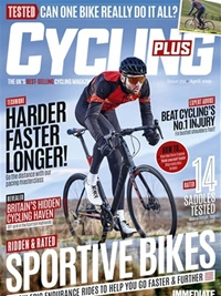 Cycling Plus (UK) omslag