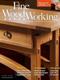 Fine Woodworking omslag