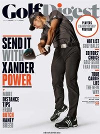 Golf Digest (US Edition) omslag