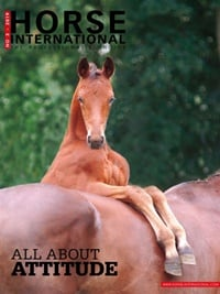Horse International omslag