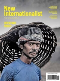 New Internationalist omslag