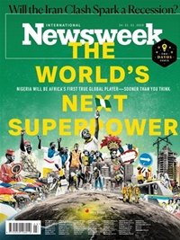 Newsweek International omslag