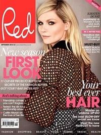 Red Magazine omslag