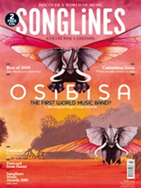 Songlines The World Music Magazine omslag