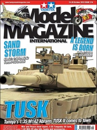 Tamiya Model Magazine omslag