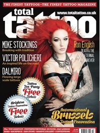 Total Tattoo Magazine omslag