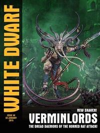 White Dwarf Monthly omslag