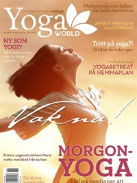 Yoga World omslag