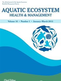 Aquatic Ecosystem Health & Management omslag