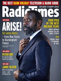 BBC Radio Times London omslag