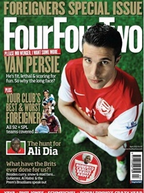 Four Four Two (UK Edition) omslag