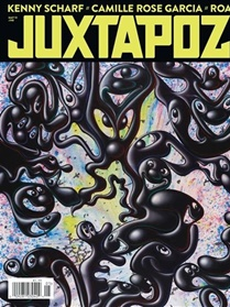 Juxtapoz Art & Culture Magazine omslag