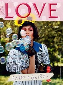 Love Magazine omslag