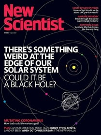New Scientist (Print & digital) omslag