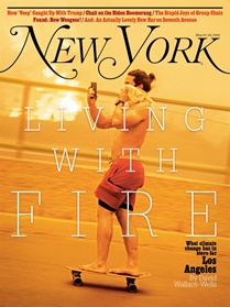 New York Magazine omslag