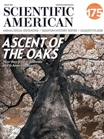 Scientific American omslag