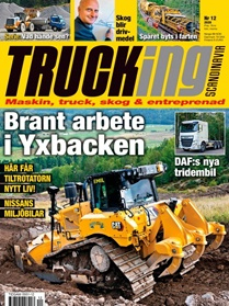 Trucking Scandinavia omslag