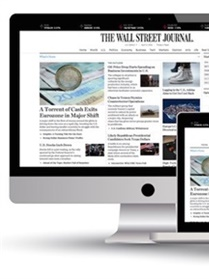 Wall Street Journal Online omslag