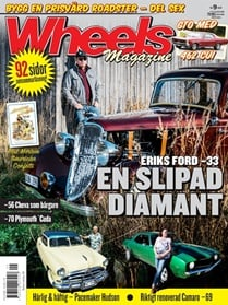 Wheels Magazine omslag